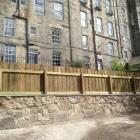 New fences in Edinburgh